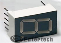 LED 7 thanh, Catot chung, 1 số