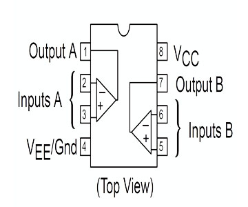 IC khuếch đại thuật toán LM358N - Linh kiện Điện tử - Thiết kế Mạch