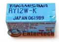 Relay 12V, RY12W-K, DIP(8)