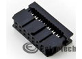 Socket Connector IDC 14-PIN
