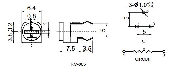Dimension-R065