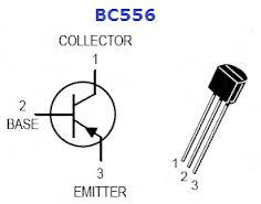Kiểu chân BC556