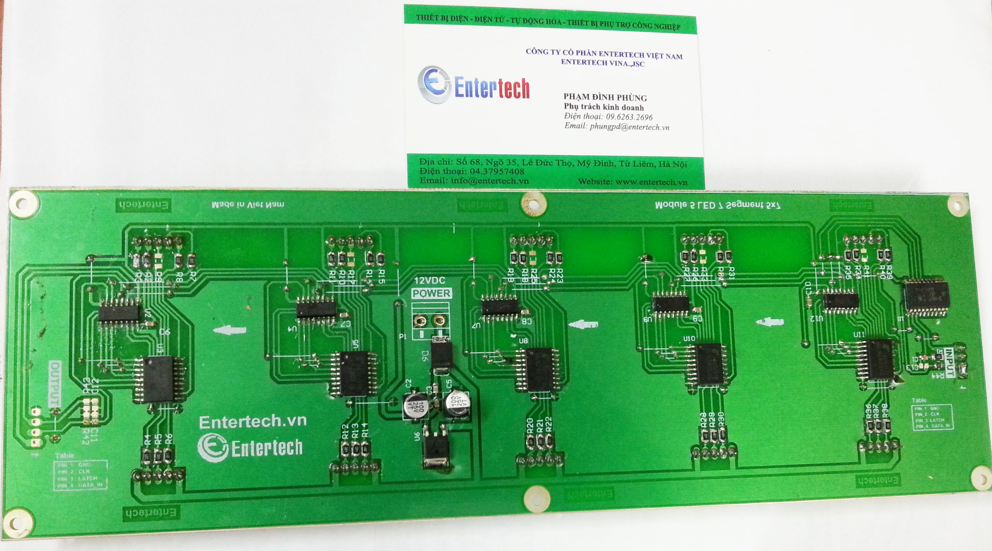 Module 5 LED 7 Thanh