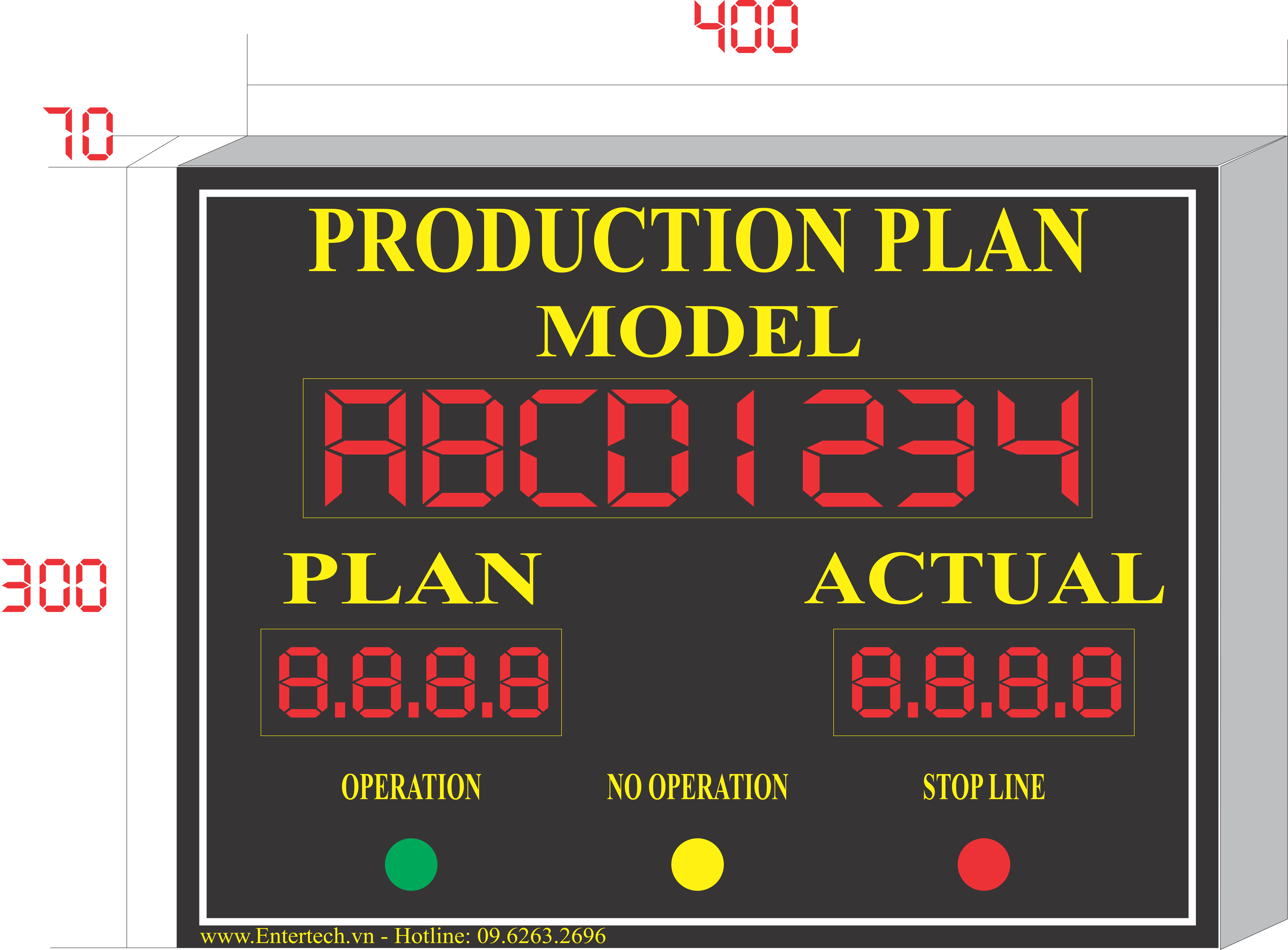 Production Plan, production control